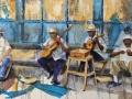 VIOUGEAS Michele Musiciens de rue à La Havanne.jpg