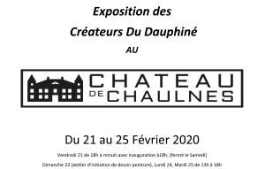 20200207 affiche expo chateau de chaulnes