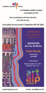 Expo alp art Lyon