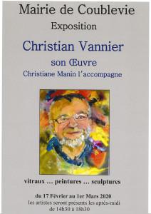 afficheChristian Vannier